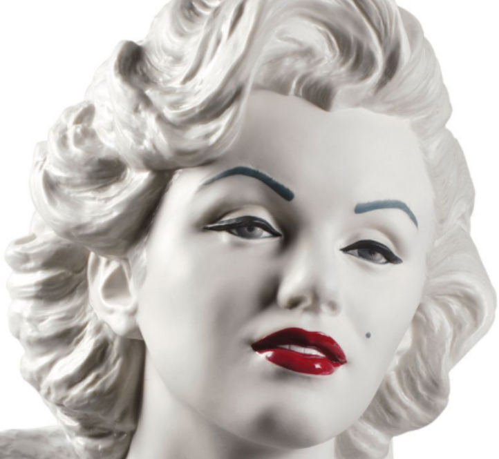 marilyn monroe closeup