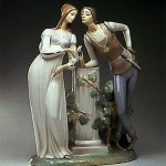 Lladro Romeo and Juliet in the Spotlight