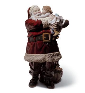 Lladro Does Santa Claus